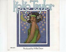 CD KOKO TAYLORs/tCHESS 1987 VG++BLUES (A4277)