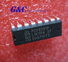 PCF8591P PHILIPS DIP-16 IC 8-bit A/D and D/A converter NEW GOOD QUALITY