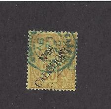 NEW CALEDONIA - 27 -  USED - 1892 -  O/P ON FRENCH COLONY STAMP