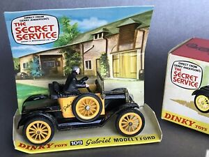 Meccano Dinky Toys 109 Gabriel Model T Ford Gerry Anderson's The Secret Service