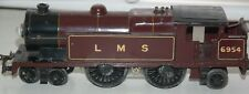 HORNBY O GAUGE  ELECTRIC No 2 SPECIAL TANK LOCOMOTIVE IN LMS RED LIVERY