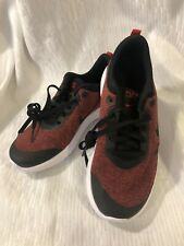NIKE Flex Experience 8 Sneakers! Size 4 Boys Youth Red And Black