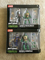 DC Collectibles Teenage Mutant Ninja Turtles Vs Batman Batgirl Donatello Alfred