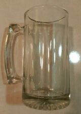 BEER GLASS MUG  LARGE HEAVY BASE 7'' X 3.5''