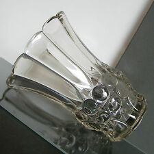"LUXVAL VASE "" MORAT "" VAL ST LAMBERT ART DECO 1935 BELGIAN GLASS"