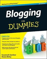 Blogging For Dummies-learn, Improve Content- Like New