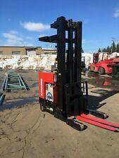 "2011 Raymond Reach Truck 4000Lb 240"" Lift W/ Battery&Charger 42"" Forks 107"" Tall"