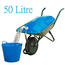Equestrian Horse Cattle Water Container Wheelbarrow Bag H20 Carrier Pourer 50L