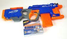 Nerf Gun Hyperfire Elite, 12 Dart Clip & 30 New Darts Automatic