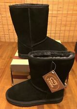 LAMO LEATHER AUSTRALIAN SHEEPSKIN BOOT BOOTS - Women's 7 (Black) $125