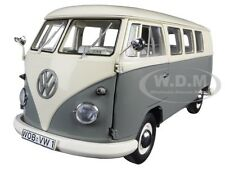 VOLKSWAGEN T1 BUS PEARL WHITE/GREY LIMITED ED 1000PCS 1/18 BY SCHUCO 450037500