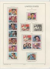 U.S. 1993 Commemorative Year Set, 94 stamps COMPLETE (7 scans), mNH Fine