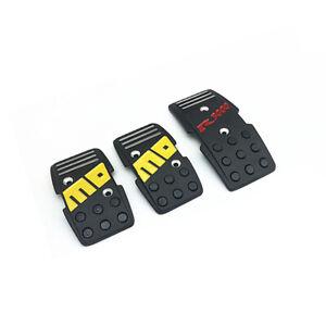 3PCS Racing Sports Car Manual Transmission Pedal Cover Brake Clutch Accelerator