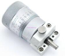 Scherr Tumico Micrometer Head 0 1 Range 0001 With Mounting Fixture