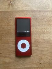 Apple iPod Nano 4th Gen 4Gb Product Red Ipod Only