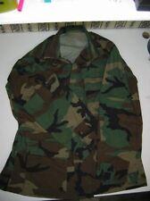 Woodland Camo Ripstop Cotton BDU Shirt Medium Regular