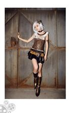 RQ-BL steampunk layer skirt size L