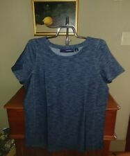 Denim 24/7 plus size Stretch Blouse NWT SIZE Small 12