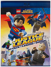 LEGO DC COMICS JUSTICE LEAGUE ATTACK OF THE LEGION OF DOOM (Bluray Only, 2017)