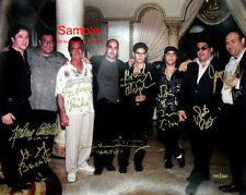 THE SOPRANOS Gandolfini Cast Signed Autographed Reprint Photo #2