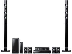 Samsung HT-C6930 W 7.1 3D-Blu-Ray Heimkinosystem (3D, Full-HD, DivX, 1330 Watt)
