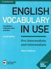 Cambridge ENGLISH VOCABULARY IN USE Pre- & Intermediate with Audio 4TH EDIT @NEW