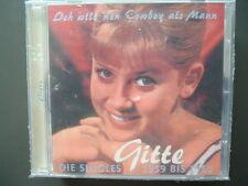 Gitte - Ich Will 'nen Cowboy Als Mann,Die Singles 1959-1963, Neuware, BearFamily