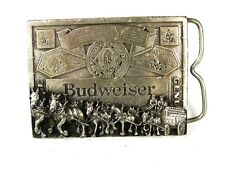 Budweiser Beer Clyesdales Belt Buckle By Markatron 72816