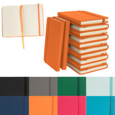 """12pk Simply Genius A6 Leatherette Journal Writing Notebook Lined 3.7""""x5.7"""""""