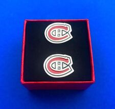 Montreal Canadiens Cufflinks Set Hockey Gift Idea Hockey Cuff Links