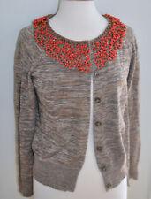 Anthropologie MOTH Jeweler's Choice Cardigan RARE - Size LARGE