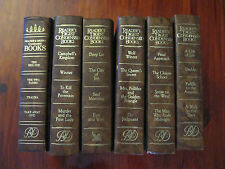 LOT of 6 vintage readers digest condenced books - GREAT CONDITION