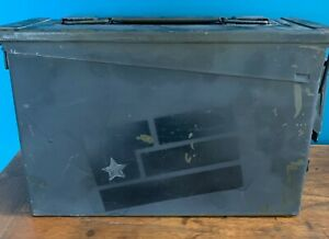 ULTRA RARE Nine Inch Nails Year Zero 2007 Promo Ammo Box w/Art Is Resistance Kit