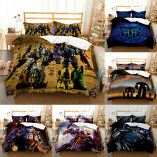 Transformers Bedding Set 3PCS Duvet Cover Pillowcase Quilt Cover Comforter Cover