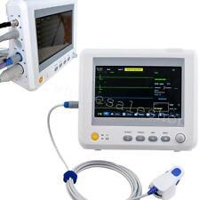 CE ICU 7 Inch Patientenmonitor 6-Parameter Vital Sign Patient Monitor SPO2 EKG