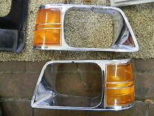 1985-1989 ARIES u.RELIANT Scheinwerferblenden/Headlight Bezel,perfekter Zustand