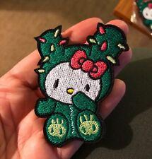 1 TOKIDOKI Hello Kitty Cactus Patch Iron On