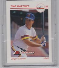 1991 IMPEL BASEBALL TINO MARTINEZ LINE DRIVE PRE ROOKIE CARD