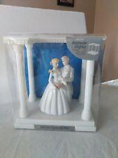 2003 Wilton Wedding Cake Topper With Keepsake Display New in Box