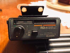 Vintage Maxon RD-1 Radar Detector Anti-Falsing Dual Superheterodyne