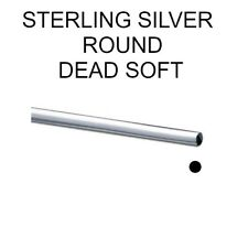 925 Sterling Silver Dead Soft Round Wire Different Gauges & Lengths Jewellery