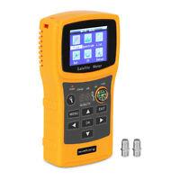 Medidor De Señal Satélite Buscador Satfinder Detector Localizador LCD USB DVB-S2