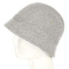 NEW GAP Cute! Bucket Hat Gray Herringbone Fisherman Wool Blend Women s ... 0924b369ee55