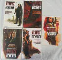 Velvet #6 7 8 11 12 Run Lot of 5 Comics Ed Brubaker Epting - Image Comics