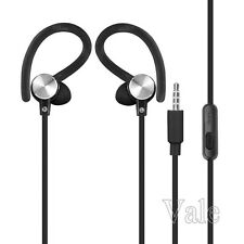 Run Jogging Hook In Over Ear Stereo Earbuds Headset Earphone For iPhone Samsung