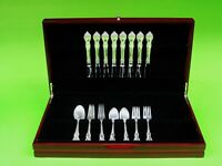 Spanish Provincial BY TOWLE sterling silver Flatware set For 8, 37 Pieces.