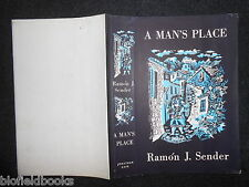 ORIGINAL VINTAGE TINDALL DUSTJACKET (ONLY) for A Man's Place by Ramon J Sender