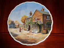 Royal Doulton Collectors Plate Penny Wise From Village Life Series