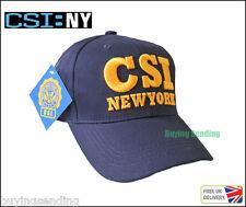 Brand new york city licence CSI cap scène de crime enquête Police NY Chapeau
