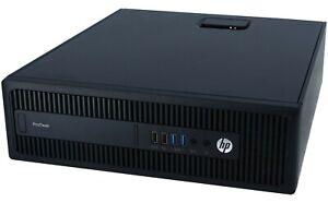 HP ProDesk 600 G2 SFF | i5-6500 @ 3.20GHz | 4GB RAM | 500GB | Windows 10 Pro
